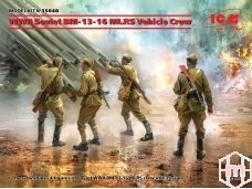 ICM - WWII Soviet BM-13-16 MLRS Vehicle Crew, 1/35, 35648