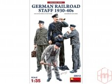 Miniart - German Railroad Staff 1930-40s, 1/35, 38012
