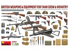 Miniart - British Weapons & equipment for tank crew & infantry, 1/35, 35361