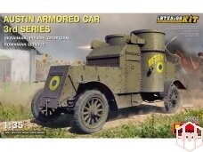 Miniart - Austin Armored Car 3rd Series Ukrainian, Polish, Georgian, Romanian Service. Interior Kit, 1/35, 39005