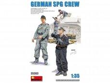 Miniart - German SPG Crew, 1/35, 35363