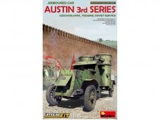 Miniart - Austin Armoured Car 3rd series. Czechoslovak, Russian, Soviet service, 1/35, 39007