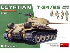 Miniart -Egyptian T-34/85 with crew, 1/35, 37098
