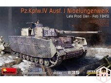 Miniart - Pz.Kpfw. IV Ausf. J Nibelungenwerk Late Prod. (Jan - Feb 1945), Mastelis: 1/35, 35342