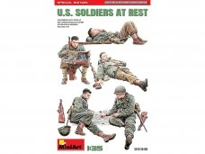 Miniart - U.S. Soldiers at Rest Special Edition, 1/35, 35318