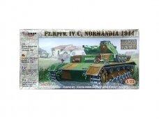 Mirage Hobby - German Medium Tank Pz.Kpfw. IV C (Normandia), Mastelis: 1/72, 72853