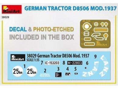 Miniart - German Tractor D8506 Mod.1937, 1/35, 38029 6
