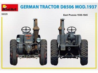 Miniart - German Tractor D8506 Mod.1937, 1/35, 38029 3