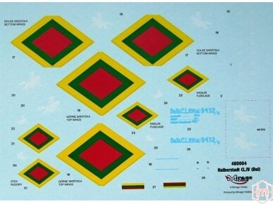 Mirage Hobby - Halberstadt CL.IV (Rol) LT, Mastelis: 1/48, 480004 4
