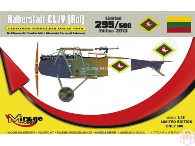 Mirage Hobby - Halberstadt CL.IV (Rol) LT, Mastelis: 1/48, 480004