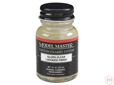 Model Master II - Gloss clear laquer 29ml, 2017