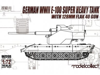 Modelcollect - German WWII E-100 Super Heavy Tank, Mastelis: 1/72, 72133