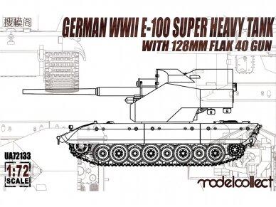 Modelcollect - German WWII E-100 Super Heavy Tank, Mastelis: 1/72, 72133