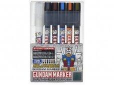 Mr.Hobby - Gundam Pouring Inking Pen Set, GMS-122