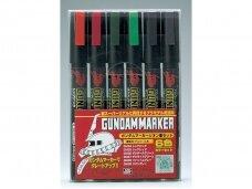 Mr.Hobby - Gundam Marker Zeon Set markerių komplektas, GMS-108