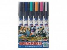 Mr.Hobby - Gundam Metallic Marker Set 2, GMS-125