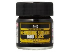 Mr.Hobby - Mr. Finishing Surfacer gruntas 1500 juodas, 40 ml, SF-288