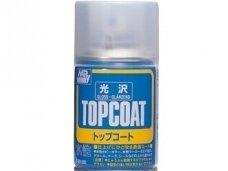 Mr.Hobby - Mr. Top Coat blizgus lakas balionėlyje (86 ml), B-501