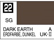 Mr.Hobby - Mr.Color C-022 Dark earth (UK), 10ml