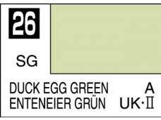 Mr.Hobby - Mr.Color C-026 Duck egg green (UK), 10ml