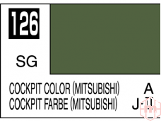Mr.Hobby - Mr.Color C-126 Cockpit color (Mitsubishi), 10ml