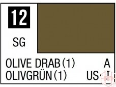 Mr.Hobby - Mr.Color C-012 Olive Drab (1), 10ml