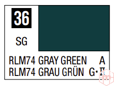 Mr.Hobby - Mr.Color C-036 Gray Green, 10ml