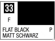 Mr.Hobby - Mr.Color C-033 Flat Black, 10ml