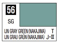 Mr.Hobby - Mr.Color C-056 IJN Gray Green (Nakajima), 10m