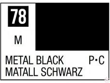 Mr.Hobby - Mr.Color C-078 Metal Black, 10ml