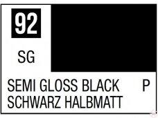 Mr.Hobby - Mr.Color C-092 Semi Gloss Black, 10ml