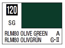 Mr.Hobby - Mr.Color C-120 RLM80 Olive Green, 10m