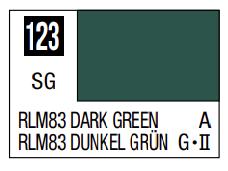 Mr.Hobby - Mr.Color C-123 RLM83 Dark Green, 10m