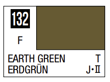 Mr.Hobby - Mr.Color C-132 Earth Green, 10m