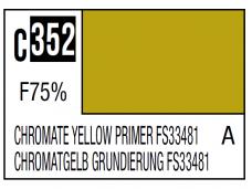 Mr.Hobby - Mr.Color serijos nitro dažai C-352 Chromate Yellow Primer FS33481, 10ml