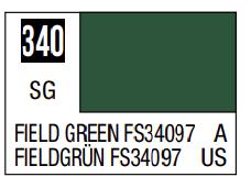 Mr.Hobby - Mr.Color C-340 FS34097 Field Green, 10m