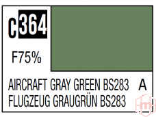 Mr.Hobby - Mr.Color serijos nitro dažai C-364 Aircraft Gray Green BS283, 10ml