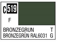 Mr.Hobby - Mr.Color serijos nitro dažai C-519 Bronzegrün, 10ml