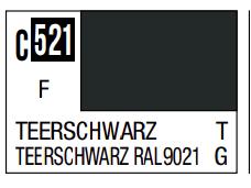 Mr.Hobby - Mr.Color C-521 Teerschwarz, 10m