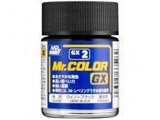 Mr.Hobby - Mr.Color GX Ueno Black, 18 ml, GX-2