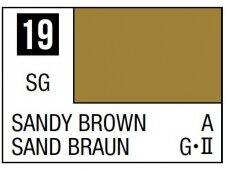 Mr.Hobby - Mr.Color serijos nitro dažai C-019 Sandy Brown, 10ml