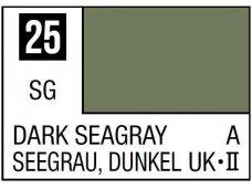 Mr.Hobby - Mr.Color serijos nitro dažai C-025 Dark Seagray, 10ml