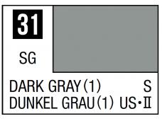 Mr.Hobby - Mr.Color serijos nitro dažai C-031 Dark Gray (1), 10ml