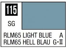 Mr.Hobby - Mr.Color serijos nitro dažai C-115 RLM65 Light Blue, 10ml