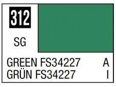 Mr.Hobby - Mr.Color serijos nitro dažai C-312 Green FS34227, 10ml