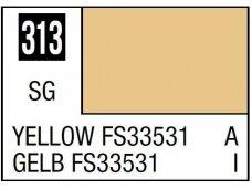 Mr.Hobby - Mr.Color serijos nitro dažai C-313 Yellow FS33531, 10ml