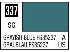 Mr.Hobby - Mr.Color serijos nitro dažai C-337 Grayish Blue FS35237, 10ml
