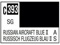 Mr.Hobby - Mr.Color serijos nitro dažai C-393 Russian Aircraft Blue 2, 10ml