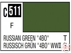 "Mr.Hobby - Mr.Color serijos nitro dažai C-511 Russian Green ""4BO"", 10ml"
