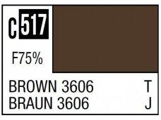 Mr.Hobby - Mr.Color serijos nitro dažai C-517 Brown 3606, 10ml